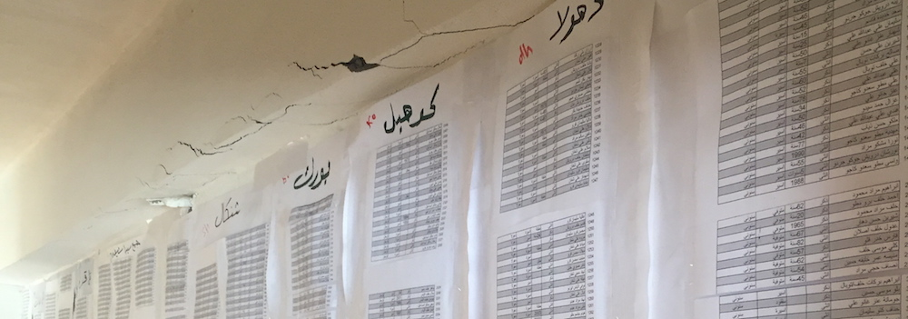Lists of Yazidi disappeared or killed